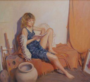 Model reading in the studio